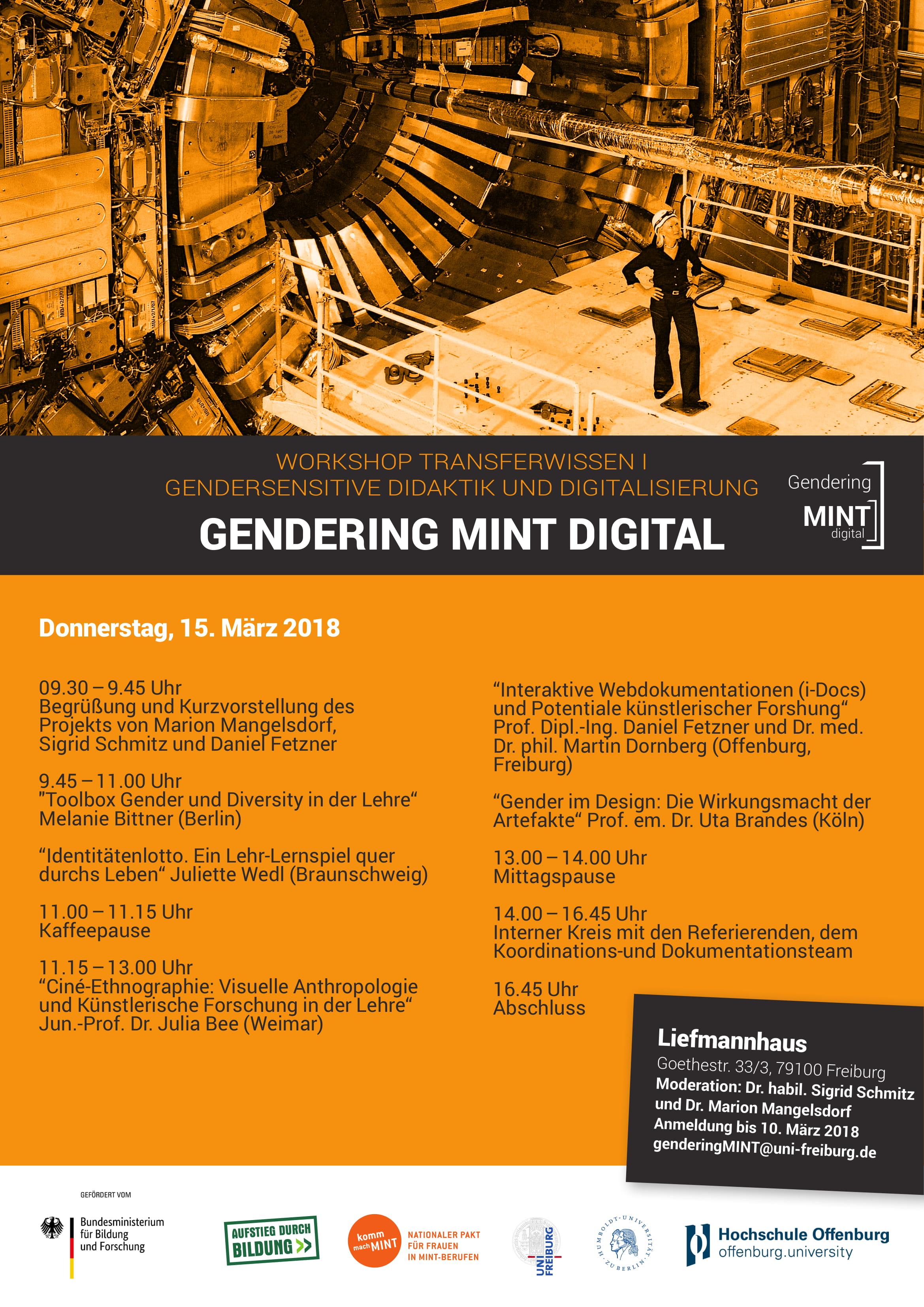 Plakat GMD Workshop 1